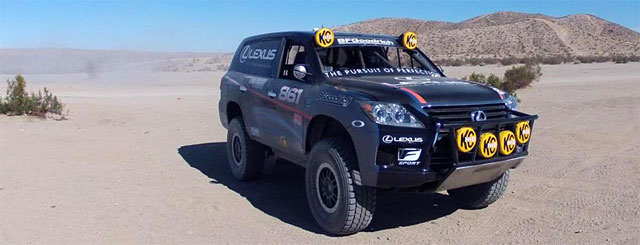 Lexus LX 570 Racer Joe Bacal Wins BAJA 1000