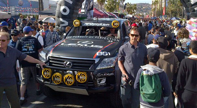 Lexus LX 570 Racer Joe Bacal Wins BAJA