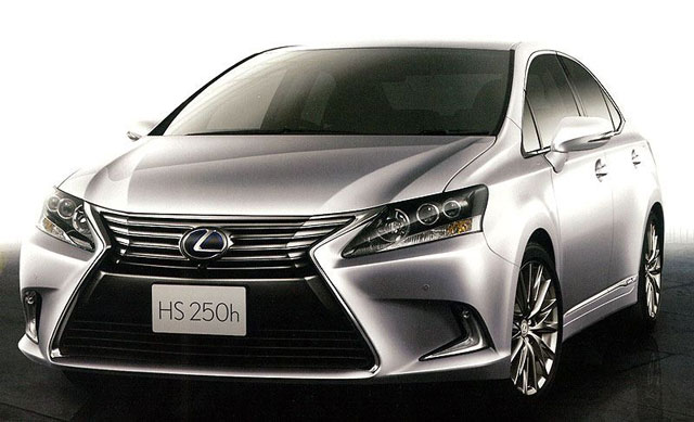 2013 Lexus HS 250h Updated