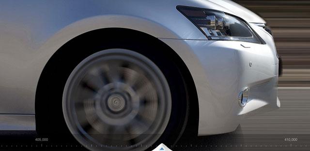 Lexus GS Million Mile Website