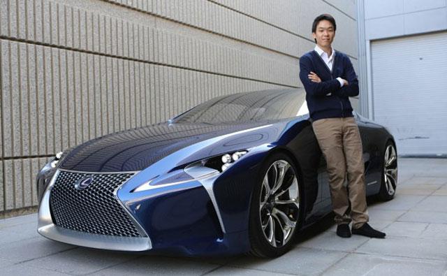 Lexus LF-LC Designer Edward Lee
