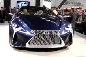 Lexus LF-LC Blue SF Autoshow