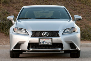 Lexus GS F SPORT Review from Autoblog