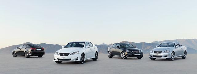 Lexus IS Family