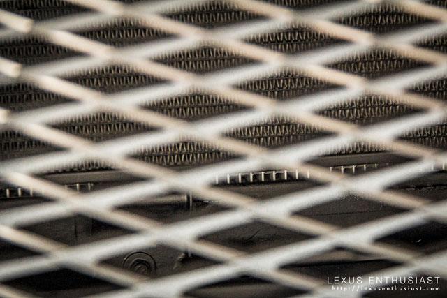 Lexus LF-CC Radiator