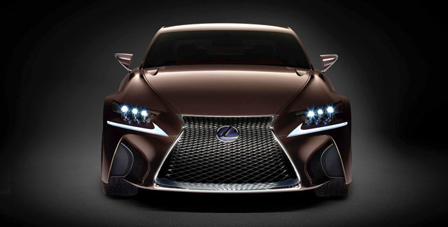 Lexus LF-CC Production