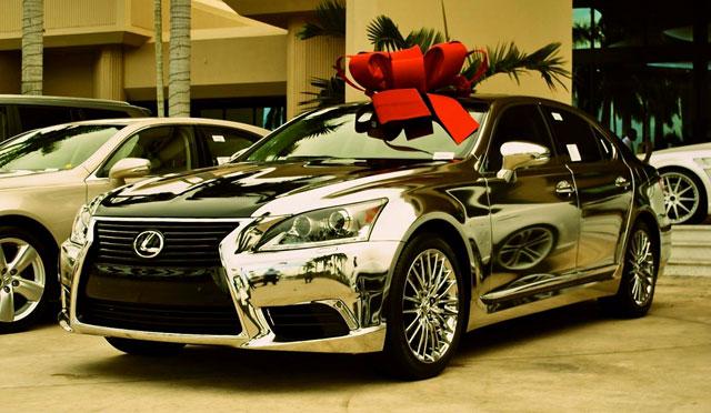 2013 Lexus LS Chromed