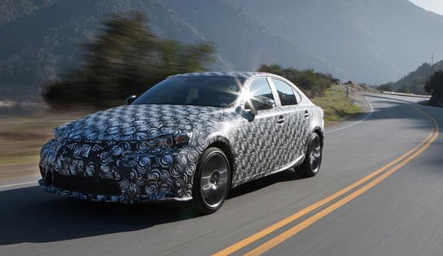 2014 Lexus IS Prototype