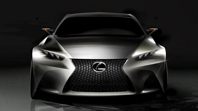Lexus LF-CC Design Sketch
