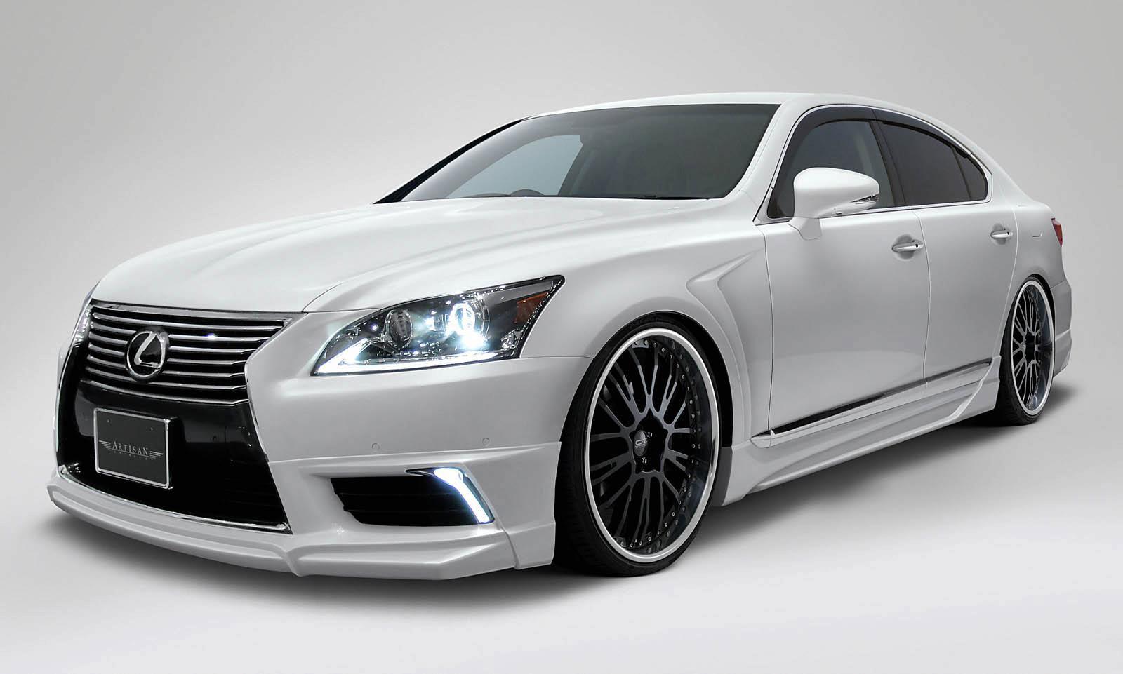 Artisan Spirits Releases Teaser of New Lexus LS Body Kit ...