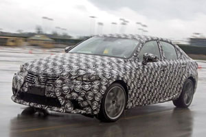 Next-Generation Lexus IS prototype
