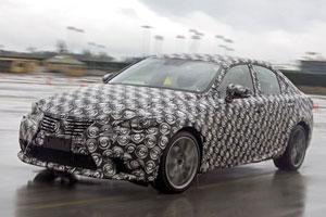 Next-Generation Lexus IS prototype
