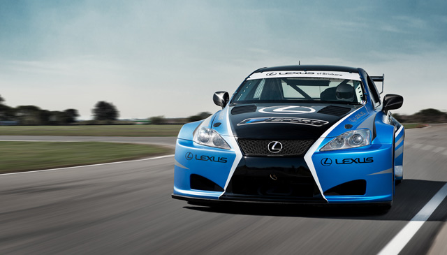 Lexus IS F Race Car Australia