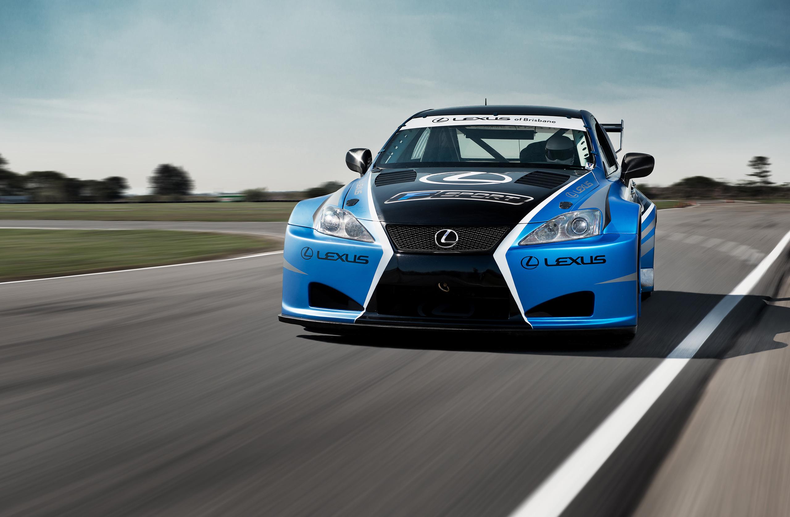 Lexus Of Brisbane Introduces Lexus IS F Race Cars