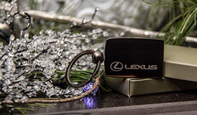 Lexus Keychain Front