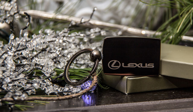 Lexus Keychain Giveaway