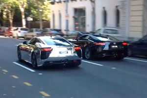 Lexus LFA Supercar Party