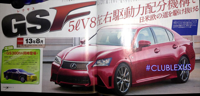 Lexus GS F from Mag-X