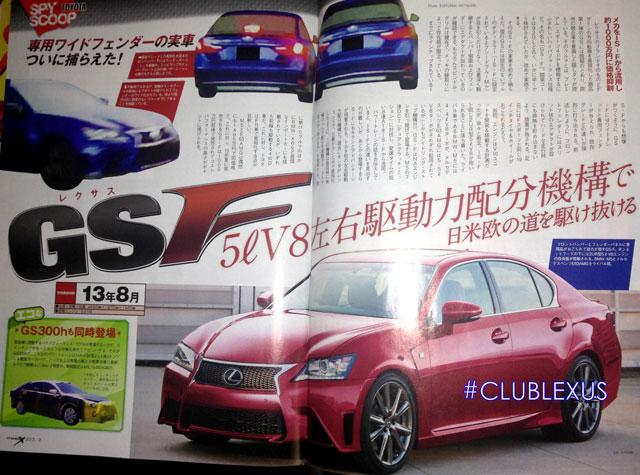 Lexus GS F by MagX
