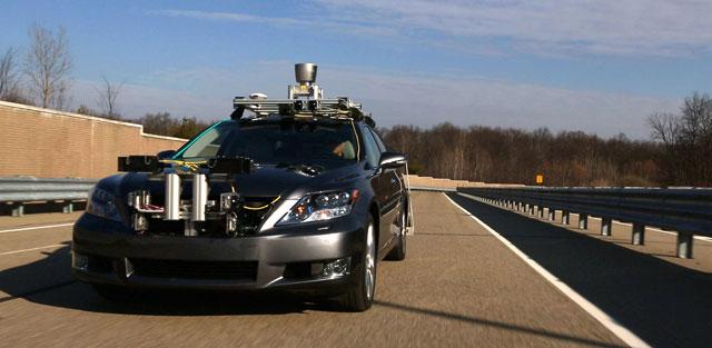 Lexus AASRV Autonomous Vehicle