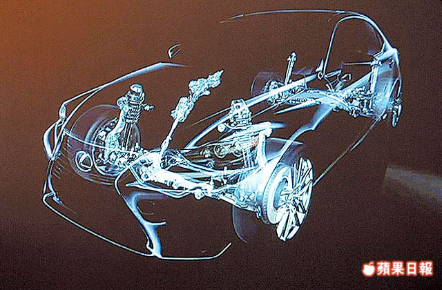 Next-Generation Lexus IS Cutaway Image
