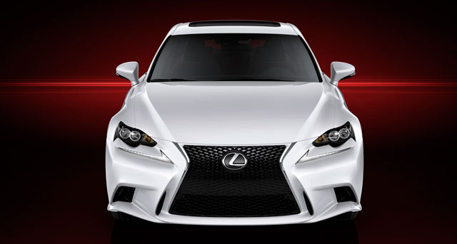 2014 Lexus IS Front