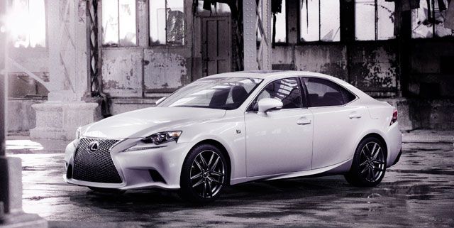 2014 Lexus IS F SPORT Official
