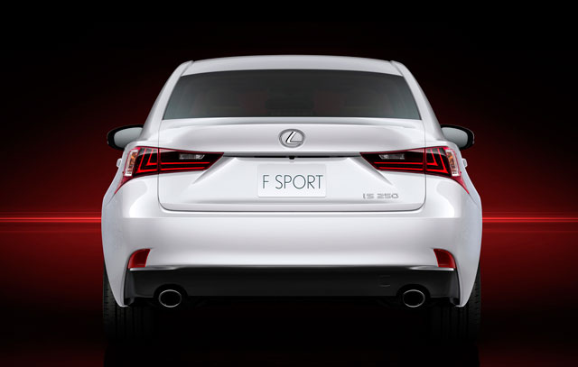 2014 Lexus IS Rear