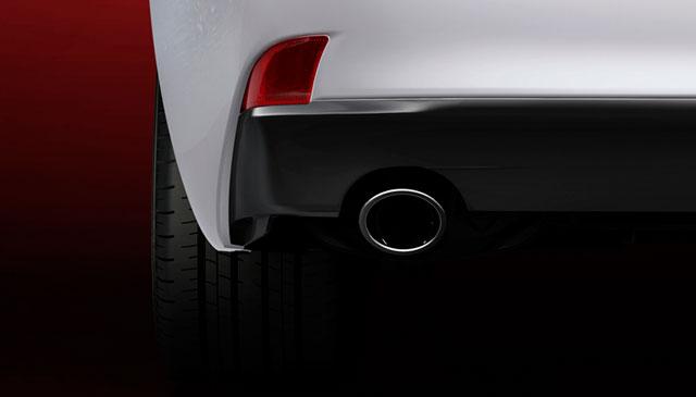 2014 Lexus IS Rear Reflectors