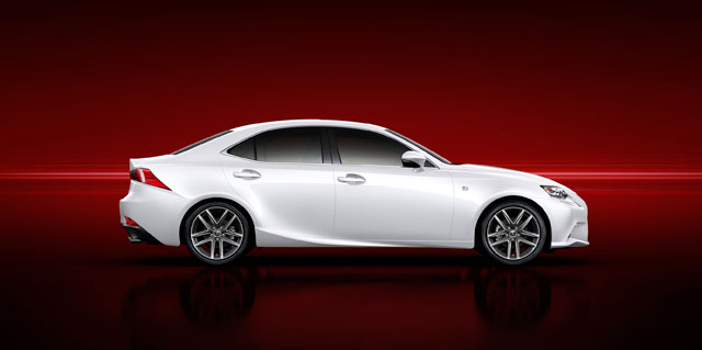 2014 Lexus IS Side Profile