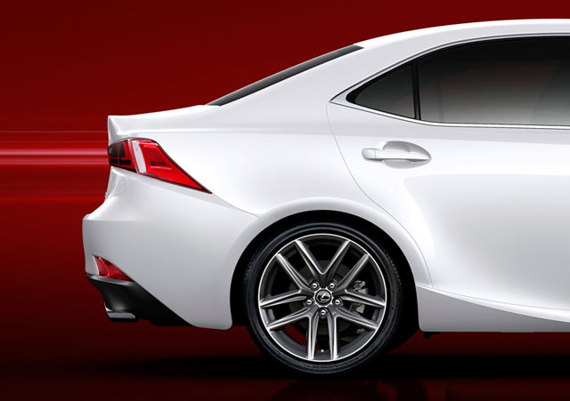 2014 Lexus IS Side Zoom