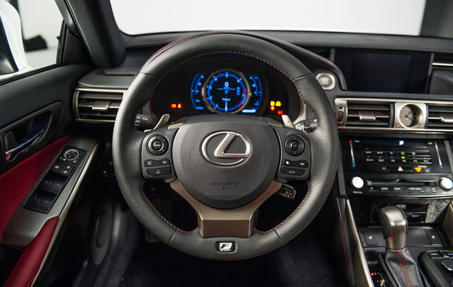 2014 Lexus IS Steering Wheel