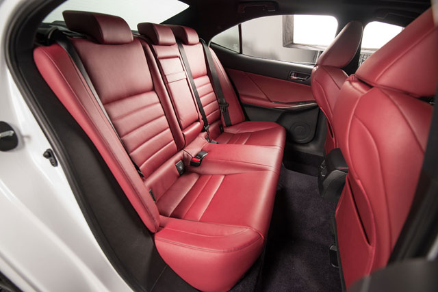 2014 Lexus IS Rear Seats