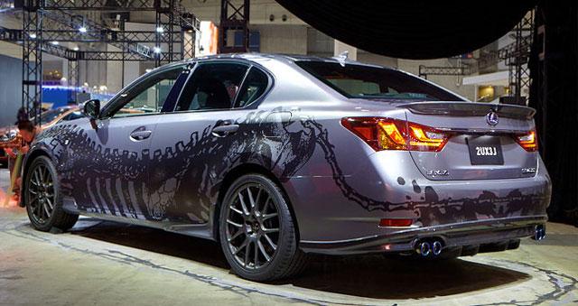 Lexus GS 450h Arctic Wolf