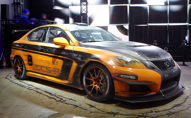 Lexus IS F CCS-R Mountain Lion