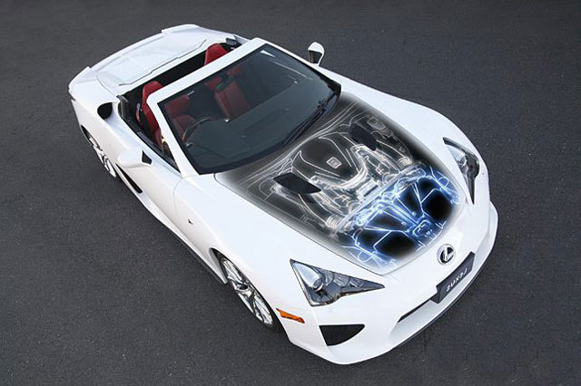 Lexus LFA White Tiger