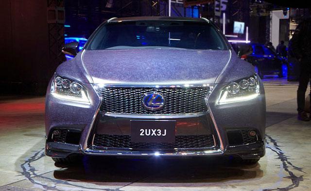 Lexus LS Black Leopard