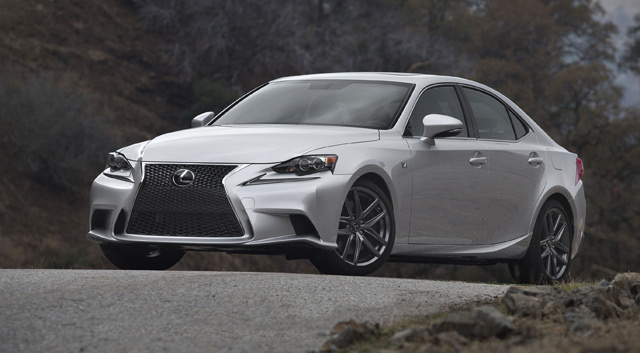 2014 Lexus IS Weird Hill