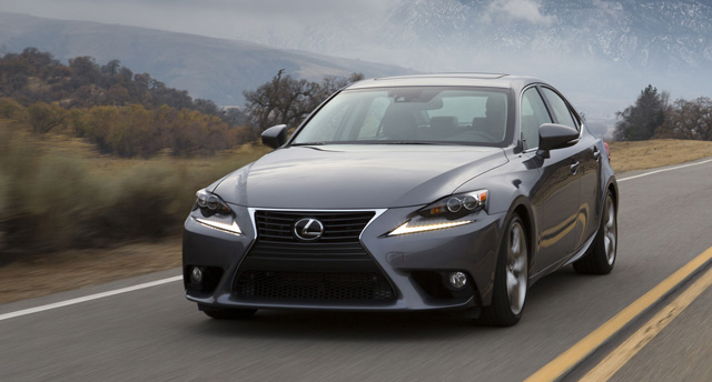 2014 Lexus IS 350 Moving