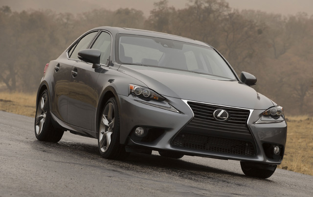 2014 Lexus IS 350 Front