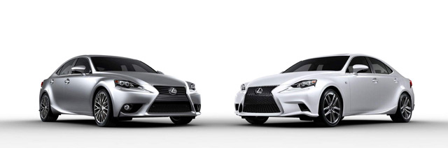 2014 Lexus IS F SPORT & IS 350