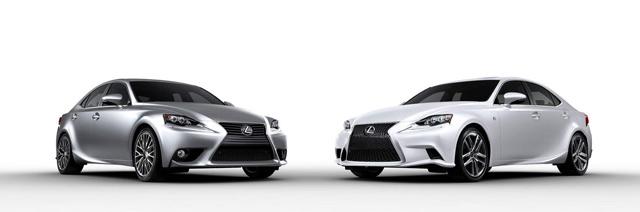2014 Lexus IS F SPORT & IS 350