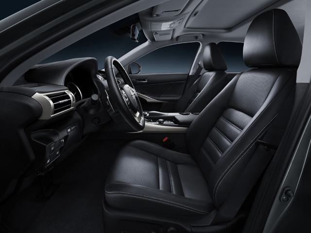 2014 Lexus IS Airbags