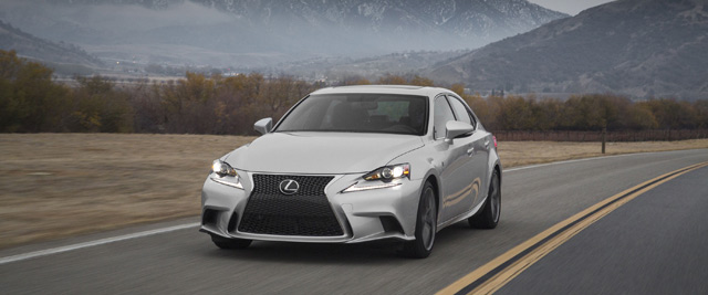 2014 Lexus IS F SPORT moving