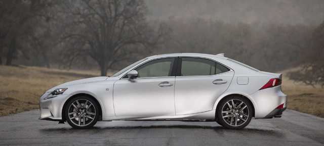 2014 Lexus IS F SPORT Side Profile