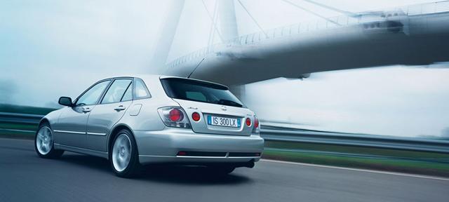 First-Generation Lexus IS SportCross