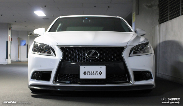 Skipper Bodykit for 2013 Lexus LS