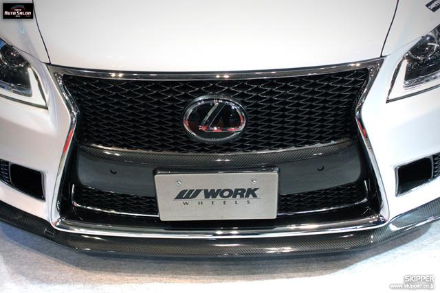 Skipper Bodykit for 2013 Lexus LS Front Bumper Cover