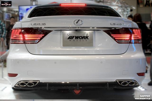 Skipper Bodykit for 2013 Lexus LS Rear Underspoiler