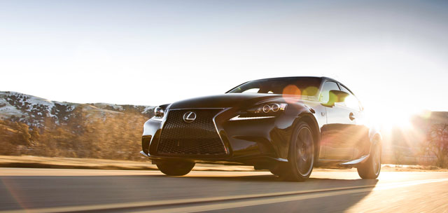 2014 Lexus IS F SPORT in Black